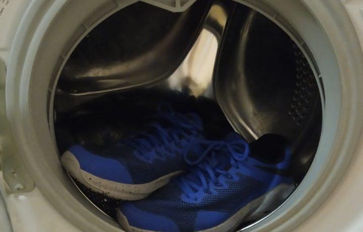 cipő mosása mosógépben